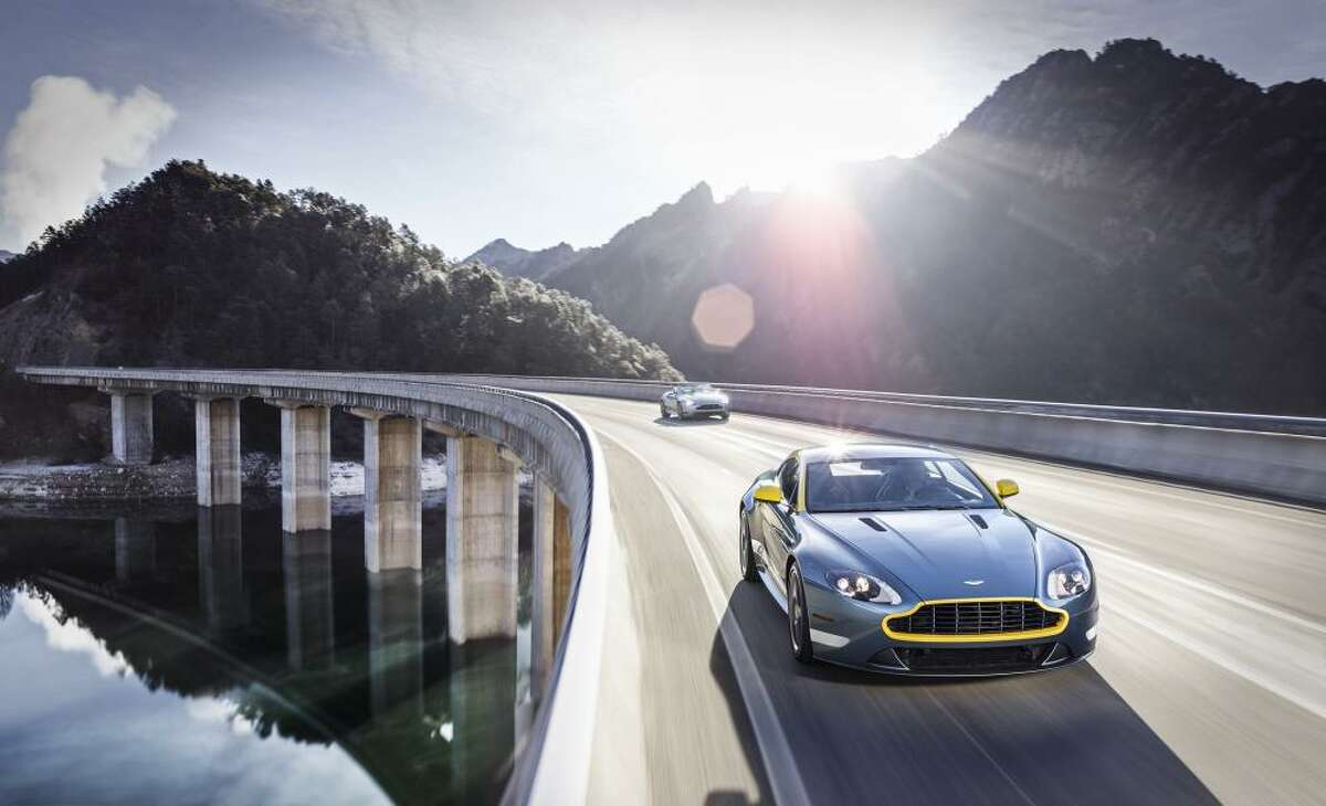 The new Aston Martin V8 Vantage GT