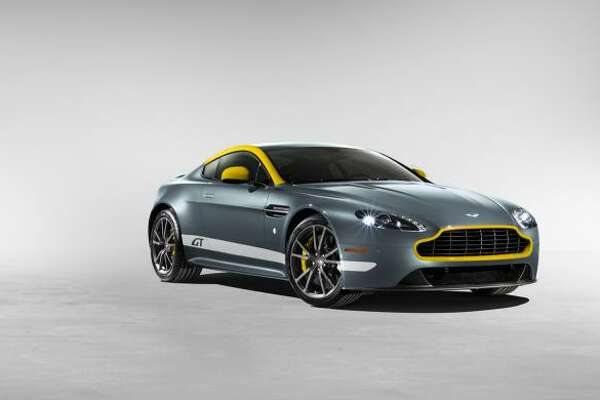 The new Aston Martin V8 Vantage GT race car