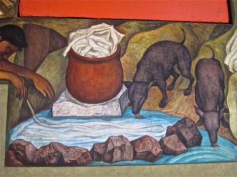 """Now through Aug. 31 """"Mexican Masters""""An exhibition of famed Mexican artistsDiego Rivera and José Orozco, showcasing the paper works of these master muralists. Wednesdays through Sundays, noon-5 p.m.; 303 East 11th Street; Tickets: Free; redbudgallery.com. Photo: Alison Cook"""