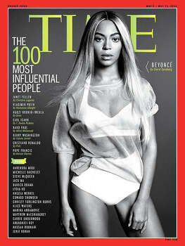 "See who else made this year's Time 100 list ... Beyonce Knowles graces the cover of Time Magazine's ""100 Most Influential People"" issue."