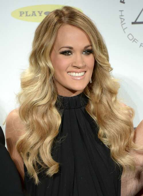 """Carrie Underwood, country singer:Time calls her 'the all-around American idol."""" Guest writer Braid Paisley say, """"not only has she earned her place, she's also raised the bar."""" Photo: Michael Loccisano, Getty Images"""