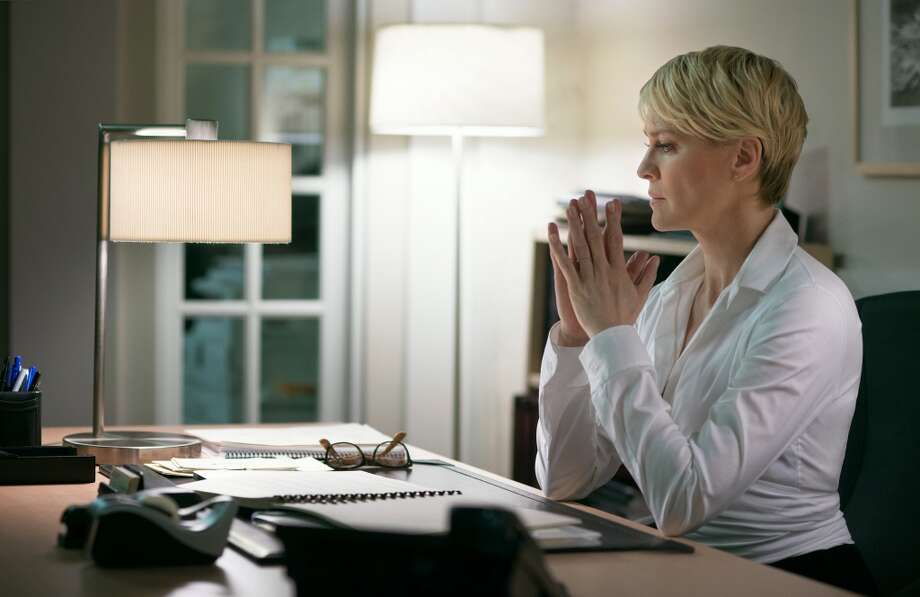 "Robin Wright, actress: Fellow actress Naomi Watts says of the ""House of Cards"" star, ""Her process was invisible yet so present. Her wild intensity beams extraordinary light — it bleeds into every actor she works with and audience member who watches her."""