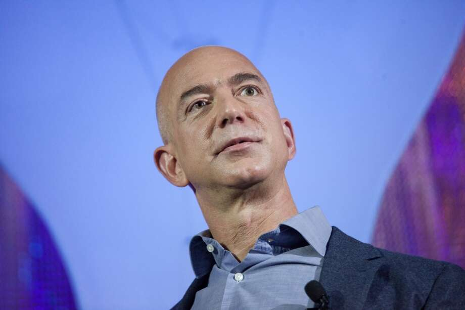 """Jeff Bezos, CEO of Amazon.com:Time calls him """"tech's most enduring innovator."""" Photo: David Ryder, Getty Images"""