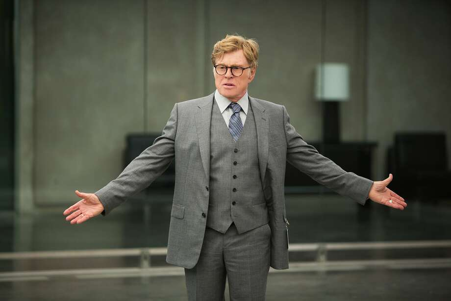 "Robert Redford, actor: Time calls him 'the godfather of indie film."" Photo: Walt Disney Films"