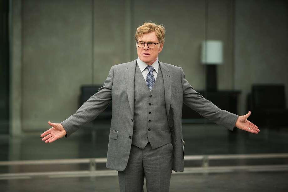 "Robert Redford, actor:Time calls him 'the godfather of indie film."" Photo: Walt Disney Films"