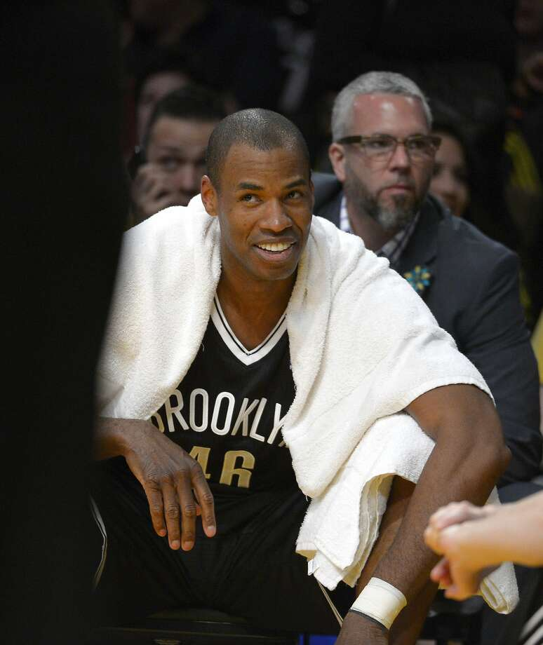 """Jason Collins, first openly gay player in the NBA:Time calls him """"the NBA player who went first."""" Chelsea Clinton met Collins at Stanford and wrote in Collins' Time profile, """"Jason's kindness and fierceness alike derive from that word too often bandied about and too rarely true: integrity. Jason has always maintained he's first a basketball player. He is. But he's also a leader and an inspiration."""" Photo: Mark J. Terrill, Associated Press"""