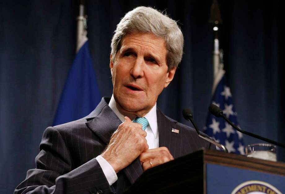 """John Kerry, U.S. Secretary of State:Time calls the former presidential candidate """"the relentless negotiator."""" Profiler Hillary Clinton says, """"Diplomacy takes stamina, passion and perspective, and John embodies these traits."""" Photo: Jim Bourg / Pool Reuters"""