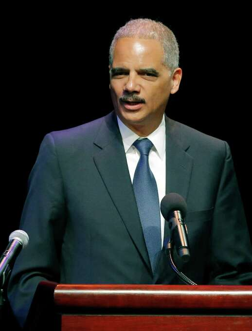 """Eric Holder, U.S. Attorney General:""""Most Americans do not realize all Eric Holder has done to protect their freedom,"""" writes U.S. Rep. John Lewis (D-Ga.). """"He has worked tirelessly to ensure equal justice, even when some try to tip the scale in favor of a select few."""" Photo: Orlin Wagner, AP / AP"""