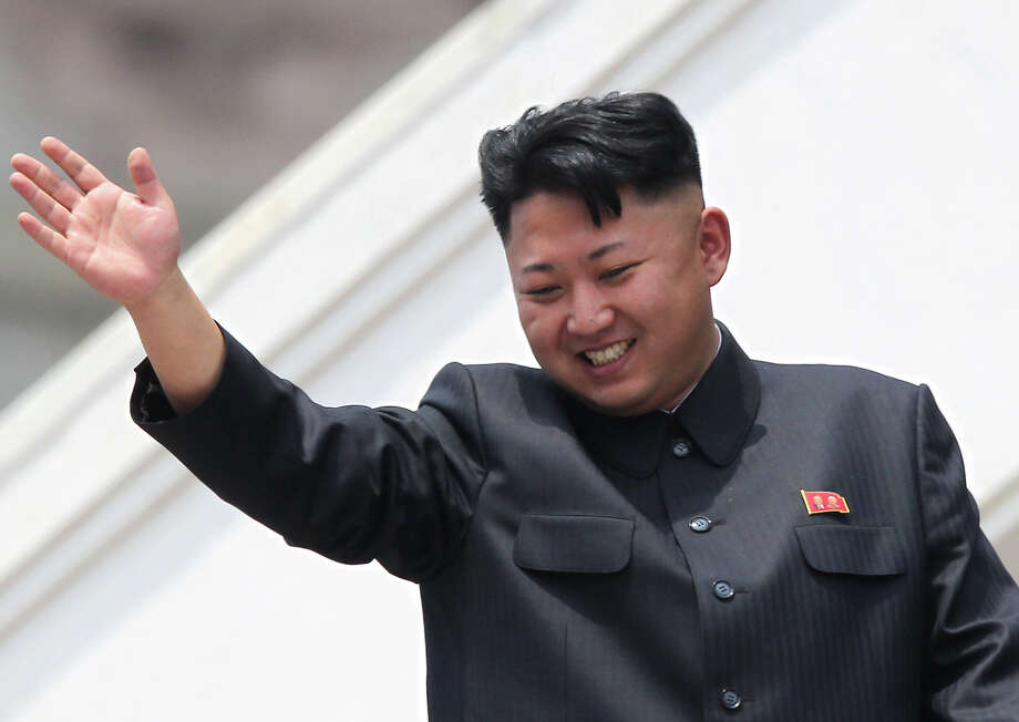 """Kim Jong-un, Supreme Leader of North Korea: Pulitzer Prize-winning author Adam Johnson writes of Kim, """"Kim's disregard for a desperately poor citizenry raises the eternal North Korean question: How much suffering can human beings tolerate? Unless he starts taking care of his people, the young generalissimo may be the first Kim to find out.""""  Photo: Wong Maye-E, STF / AP"""