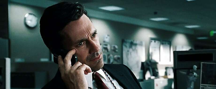 """""""Mad Men"""" star Jon Hamm, top, is looking to become a big-screen leading man in """"Million Dollar Arm."""" Photo: Walt Disney Pictures"""