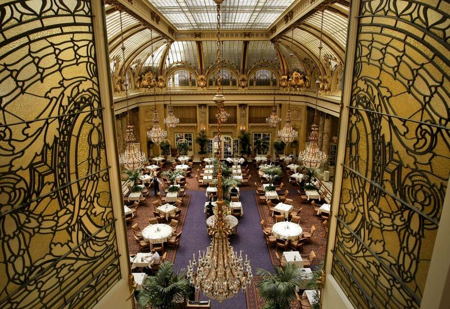 "The Garden Court at the Palace Hotel in San Francisco has one of the most beautiful domes on the West Coast.  The 100+-year-old hotel space is very special to San Francisco history: maybe it will be special to you and your intended? ""I was proposed to at the Palace"" has such a ring to it. Photo: Michael Macor, The Chronicle"