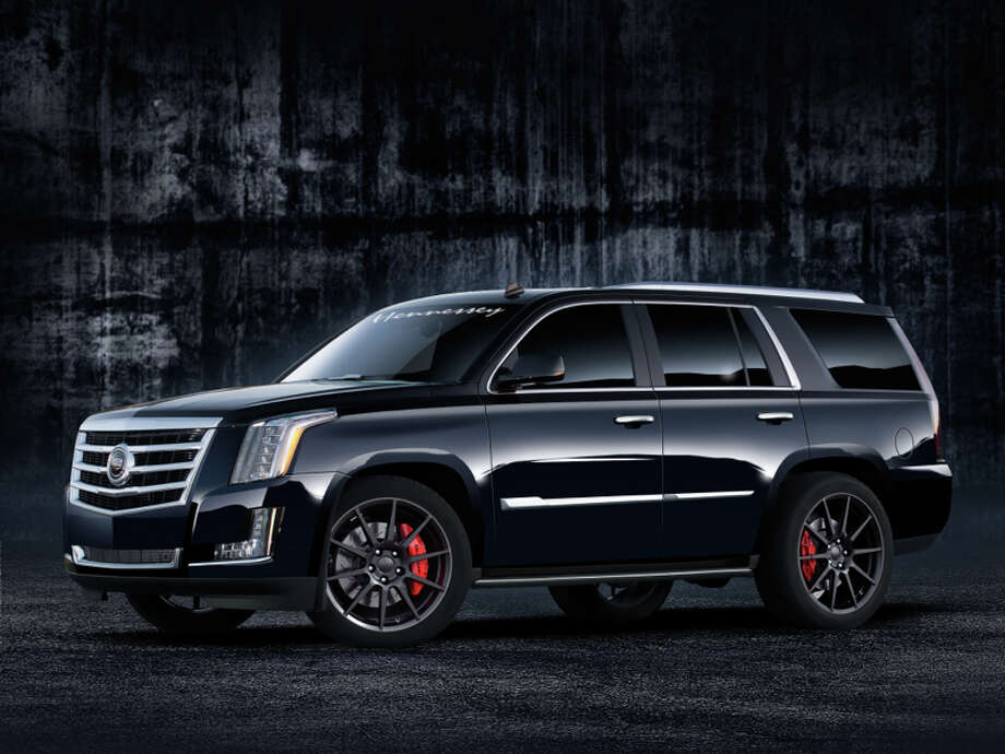 Hennessey's rendering of their new 2015 Cadillac Escalade. Photo: Hennessey Performance
