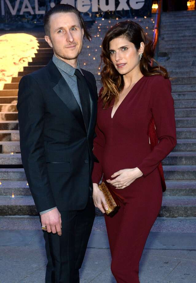 Scott Campbell and Lake Bell attend the Vanity Fair Party during the 2014 Tribeca Film Festival at the State Supreme Courthouse on April 23, 2014 in New York City. Photo: Jamie McCarthy, Getty Images For The 2014 Tribeca Film Festival