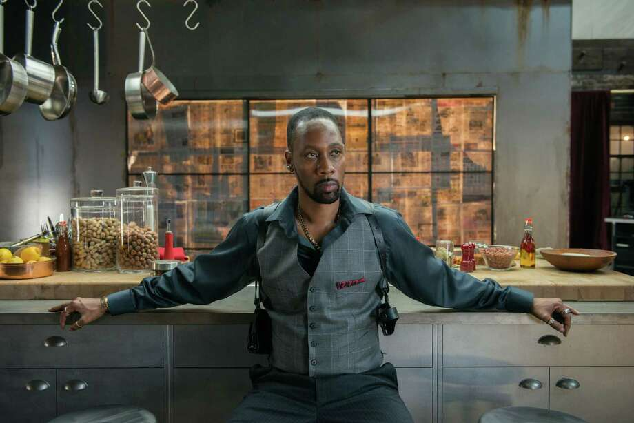 "This image released by Relativity Media shows RZA in a scene from ""Brick Mansions."" (AP Photo/Relativity Media, Philippe Bosse) ORG XMIT: NYET568 Photo: Philippe Bosse / Relativity Media"