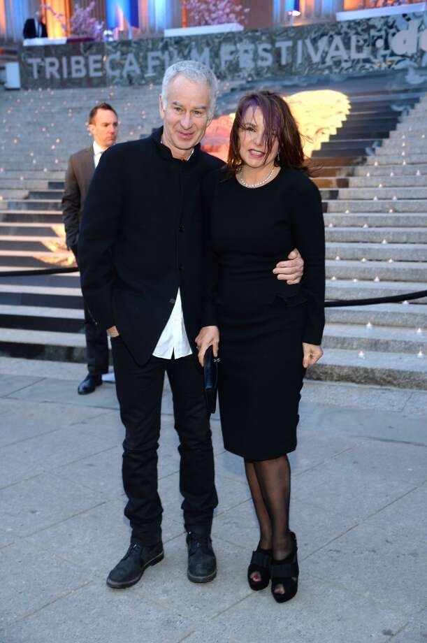 John McEnroe and Patty Smyth attend the Vanity Fair Party during the 2014 Tribeca Film Festival at the State Supreme Courthouse on April 23, 2014 in New York City. Photo: Jamie McCarthy, Getty Images For The 2014 Tribeca Film Festival