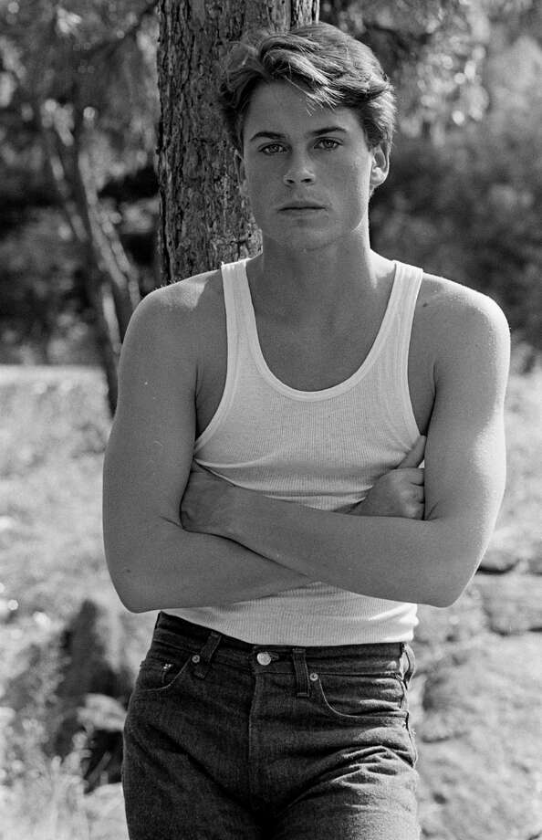 Rob Lowe, 1983.  Photo: Time & Life Pictures, Getty Images / Time & Life Pictures