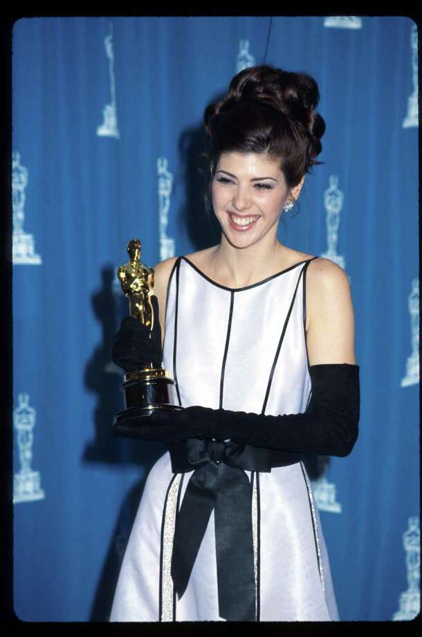 "Marisa Tomei, 1993, when she won an Oscar for ""My Cousin Vinny.""  Photo: Barry King, Getty Images / Hulton Archive"