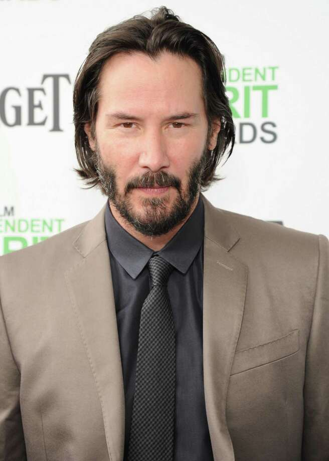Keanu Reeves. Birthday: Sept. 2. (Photo: Film Independent Spirit Awards, Mar. 1, 2014).  Photo: Kevin Mazur, Getty Images / 2014 Kevin Mazur