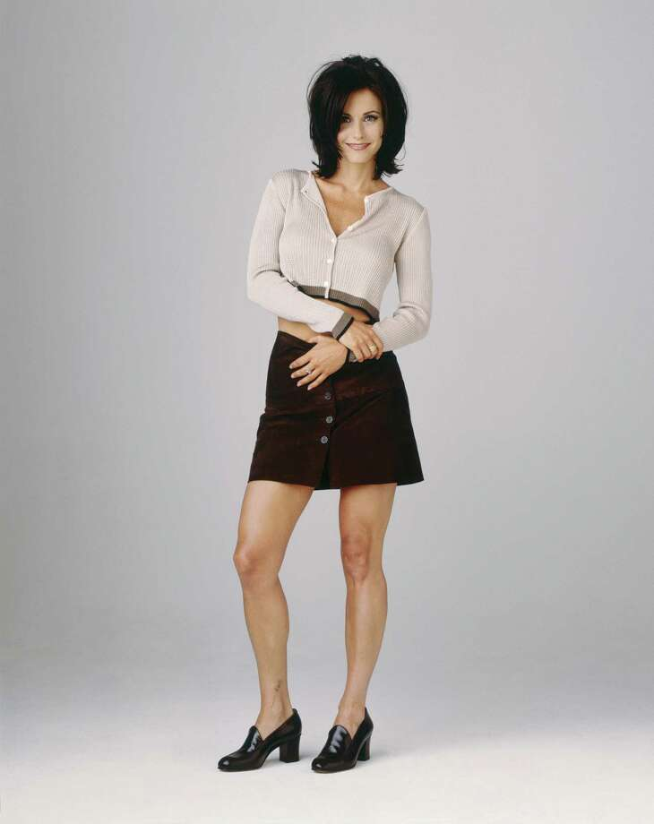 "Courteney Cox, as Monica Geller, in ""Friends,"" mid- to late '90s.  Photo: NBC, Getty Images / © NBC Universal, Inc."