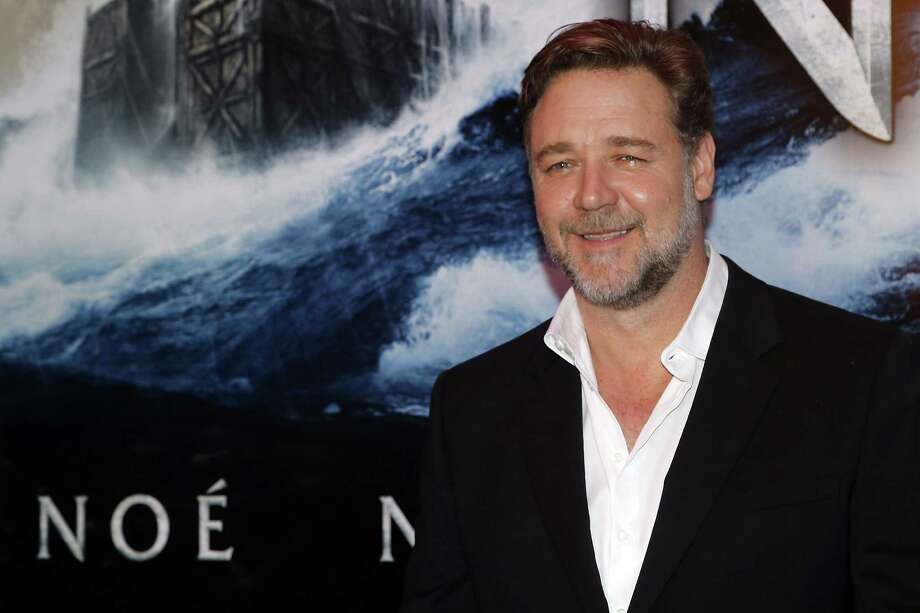 "Russell Crowe. Birthday: April 7. (Photo: April 1, 2014, screening of Crowe's movie, ""Noah."").  Photo: FRANCOIS GUILLOT, Getty Images / 2014 AFP"