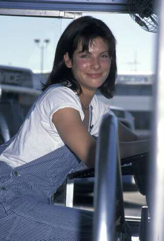 "Sandra Bullock, 1994. (Promotional event for ""Speed,"" her breakout movie).  Photo: Ron Galella, Getty Images / Ron Galella Collection"
