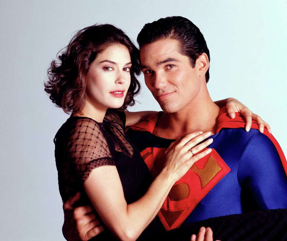"Teri Hatcher, 1994, with Dean Cain in the show ""Lois & Clark: The New Adventures of Superman.""  Photo: ABC PHOTO ARCHIVES, Getty Images / ©1994, American Broadcasting Companies, Inc. All rights reserved. For editorial use only. NO ARCHIVING. NO RESALE."