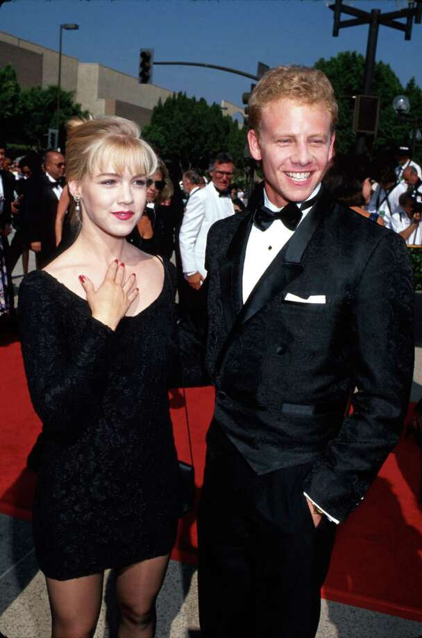 "Ian Ziering, 1990s, with ""Beverly Hills 90210"" co-star Jennie Garth. Photo: Time Life Pictures, Getty Images / Time Life Pictures"