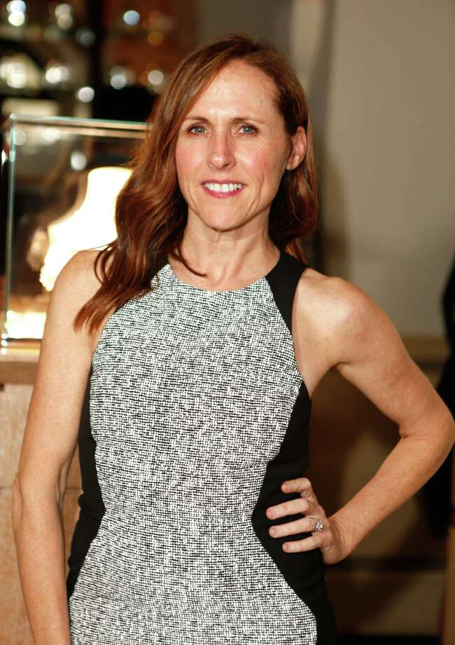 Molly Shannon. Birthday: Sept. 16. (Photo: Weinstein Company Academy Awards party, March 1, 2014, Beverly Hills, California). Photo: Jeff Vespa, Getty Images / 2014 Jeff Vespa