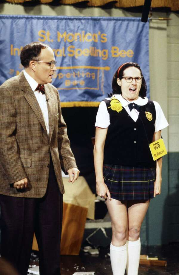 Molly Shannon, 1997, on SNL with former New York mayor Rudy Giuliani. Superstar!  Photo: NBC, Getty Images / © NBCUniversal, Inc.