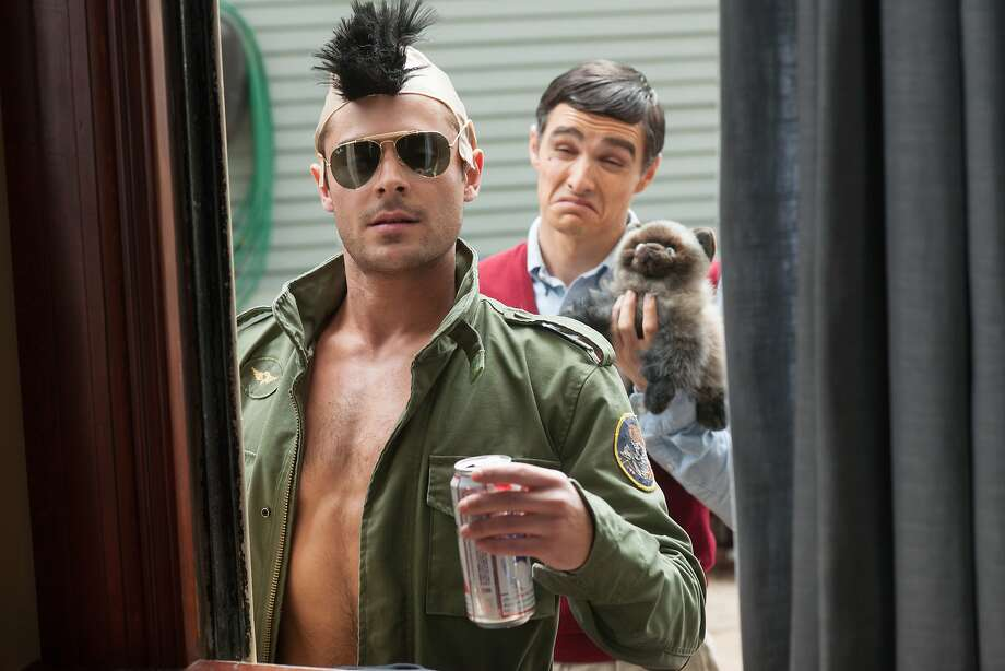 Neighbors (May 9):Seth Rogen and Zac Efron co-star. Photo: Glen Wilson, Associated Press