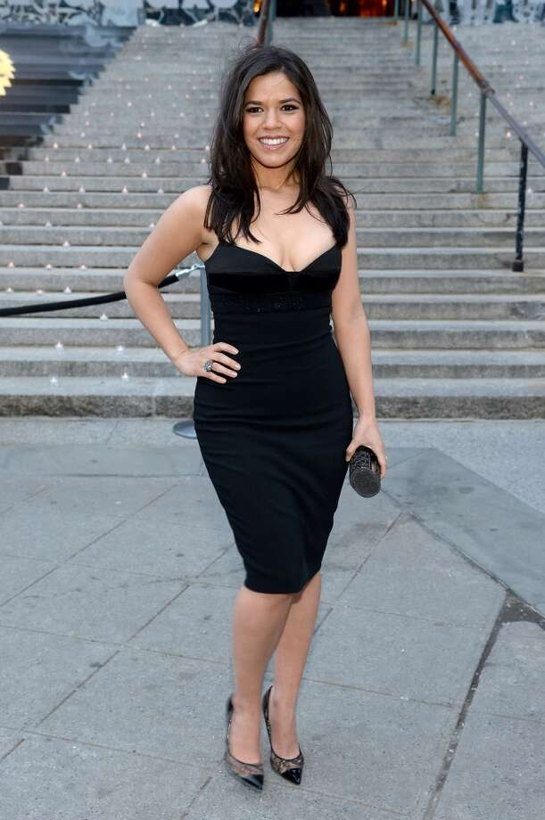 Actress America Ferrera  attends the Vanity Fair Party during the 2014 Tribeca Film Festival at the State Supreme Courthouse on April 23, 2014 in New York City. Photo: Jamie McCarthy, Getty Images For The 2014 Tribeca Film Festival