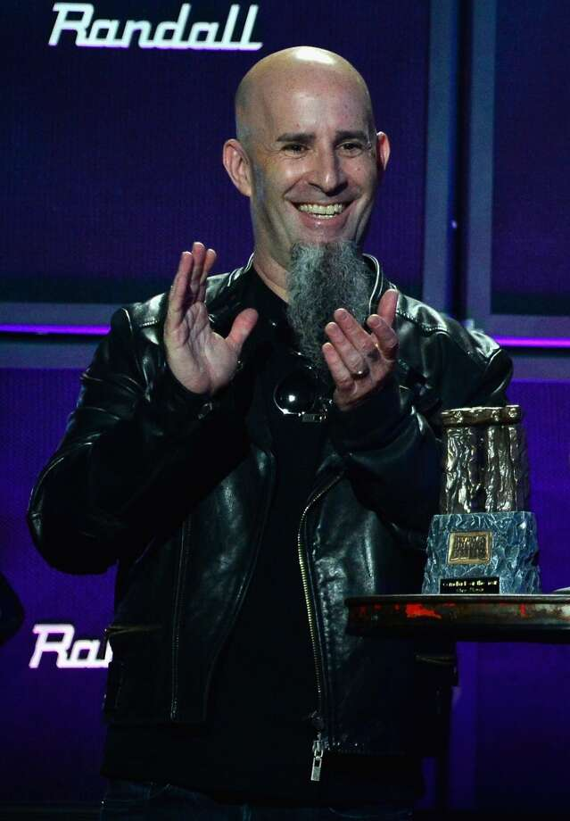 Musician Scott Ian Rosenfeld speaks onstage at the 2014 Revolver Golden Gods Awards at Club Nokia on April 23, 2014 in Los Angeles, California. Photo: Frazer Harrison, Getty Images
