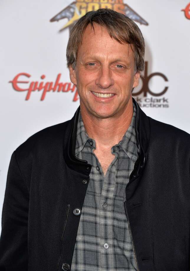 Professional Skateboarder Tony Hawk attends the 6th Annual Revolver Golden Gods Award Show at Club Nokia on April 23, 2014 in Los Angeles, California. Photo: Frazer Harrison, Getty Images