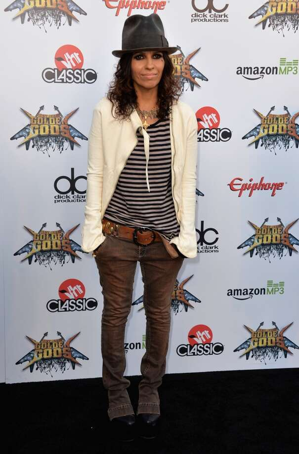 Musician Linda Perry attends the 6th Annual Revolver Golden Gods Award Show at Club Nokia on April 23, 2014 in Los Angeles, California. Photo: Frazer Harrison, Getty Images
