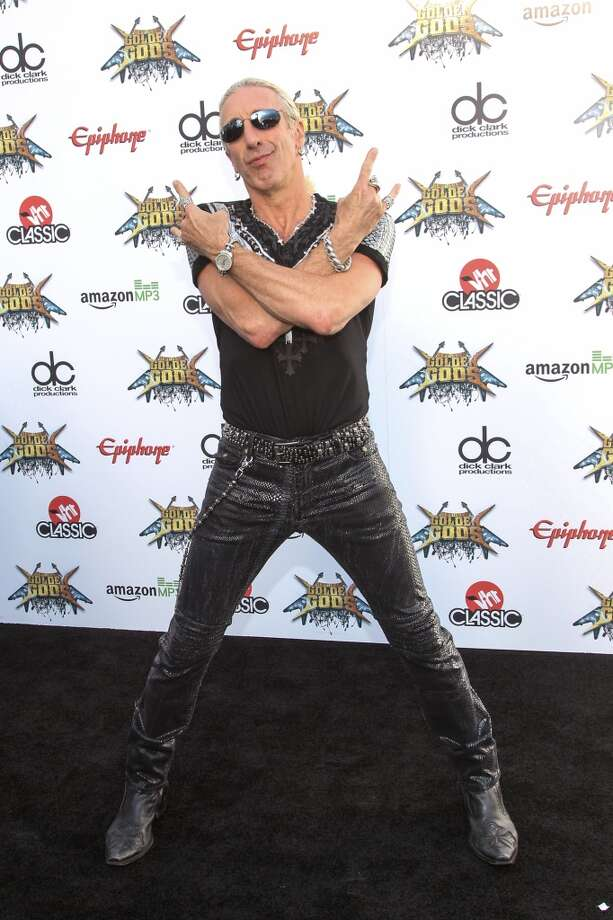 Dee Snider of Twisted Sister attends the 6th Annual Revolver Golden Gods Award Show at Club Nokia on April 23, 2014 in Los Angeles. Photo: Paul A. Hebert, Associated Press