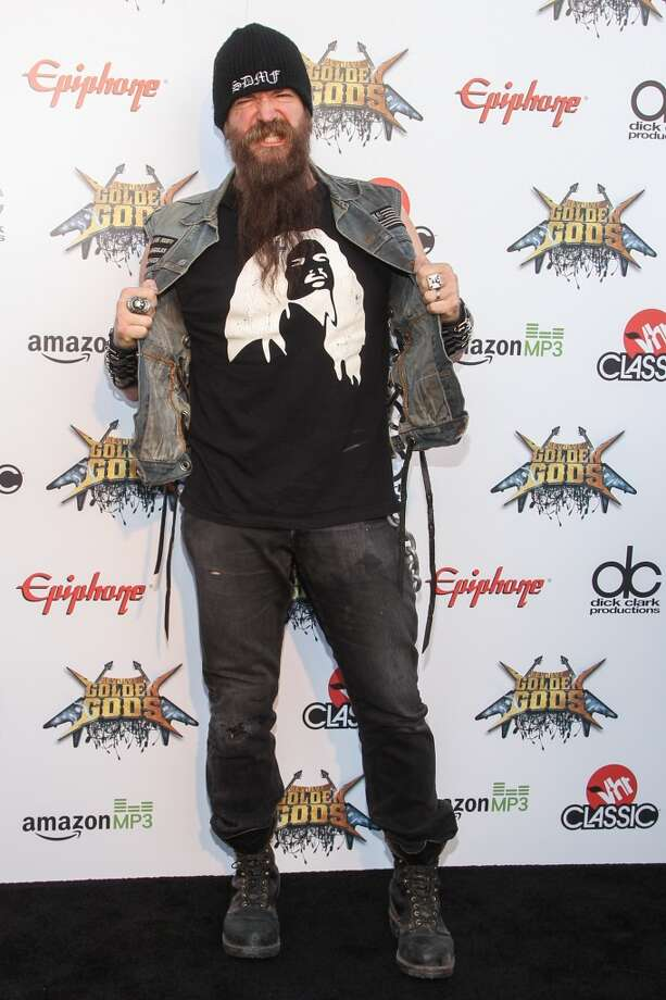 Guitarist Zakk Wylde attends the 6th Annual Revolver Golden Gods Award Show at Club Nokia on April 23, 2014 in Los Angeles, California. Photo: Paul A. Hebert, Associated Press