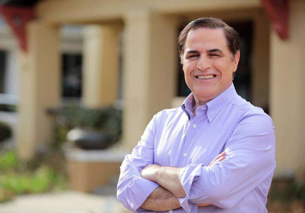 In this undated photo provided by his campaign is David Alameel, a U.S. Senate candidate in Texas' Democratic primary runoff.