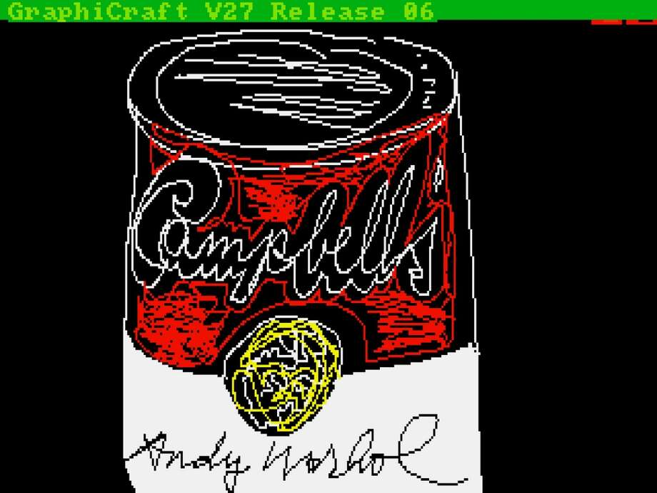 'Campbell's' by Andy Warhol, 1985. Photo: The Andy Warhol Foundation For The Visuals Arts, Inc., Courtesy Of The Andy Warhol Museum
