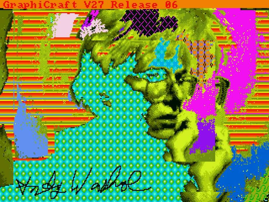 'Andy2' by Andy Warhol, 1985. Photo: The Andy Warhol Foundation For The Visuals Arts, Inc., Courtesy Of The Andy Warhol Museum