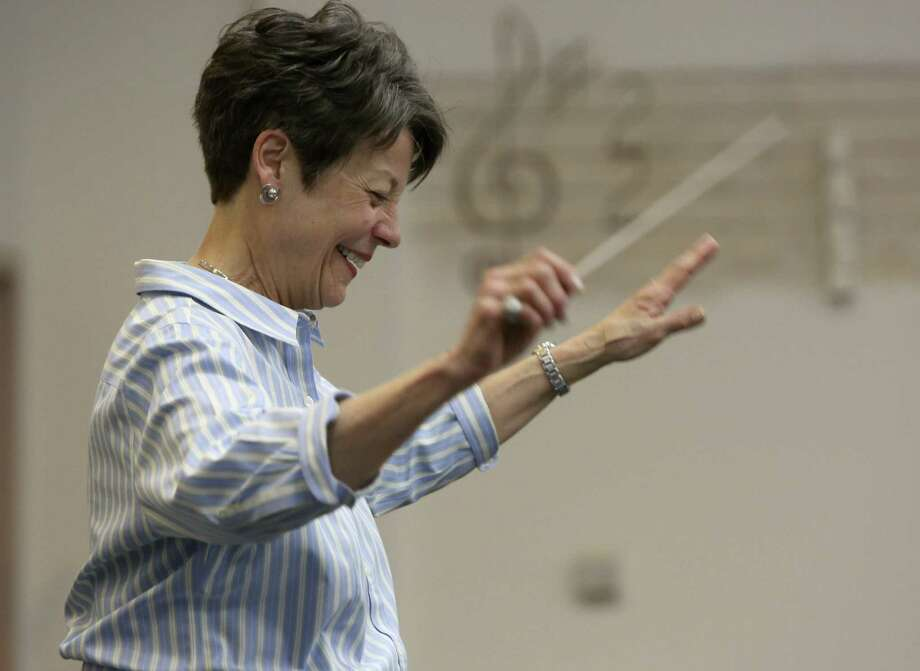 Marguerite McCormick, who founded the Children's Chorus of San Antonio in 1983, has worked on the group's transition plan for two years. Photo: Helen L. Montoya / San Antonio Express-News / ©2013 San Antonio Express-News
