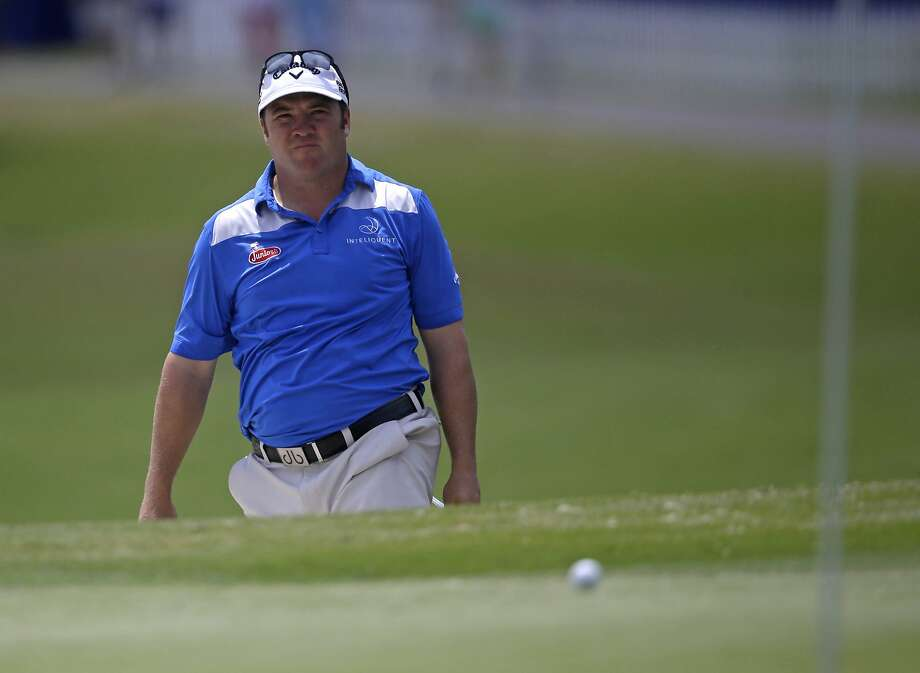 Andrew Svoboda matched the TPC Louisiana course record with a 64 Thursday, but when the day ended, he was only in second place. Photo: Gerald Herbert, Associated Press