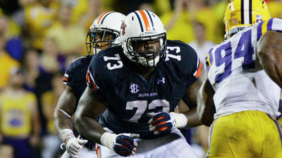 Auburn offensive lineman Greg Robinson could be drafted as high as No. 2 by St. Louis. Photo: NA / ONLINE_YES