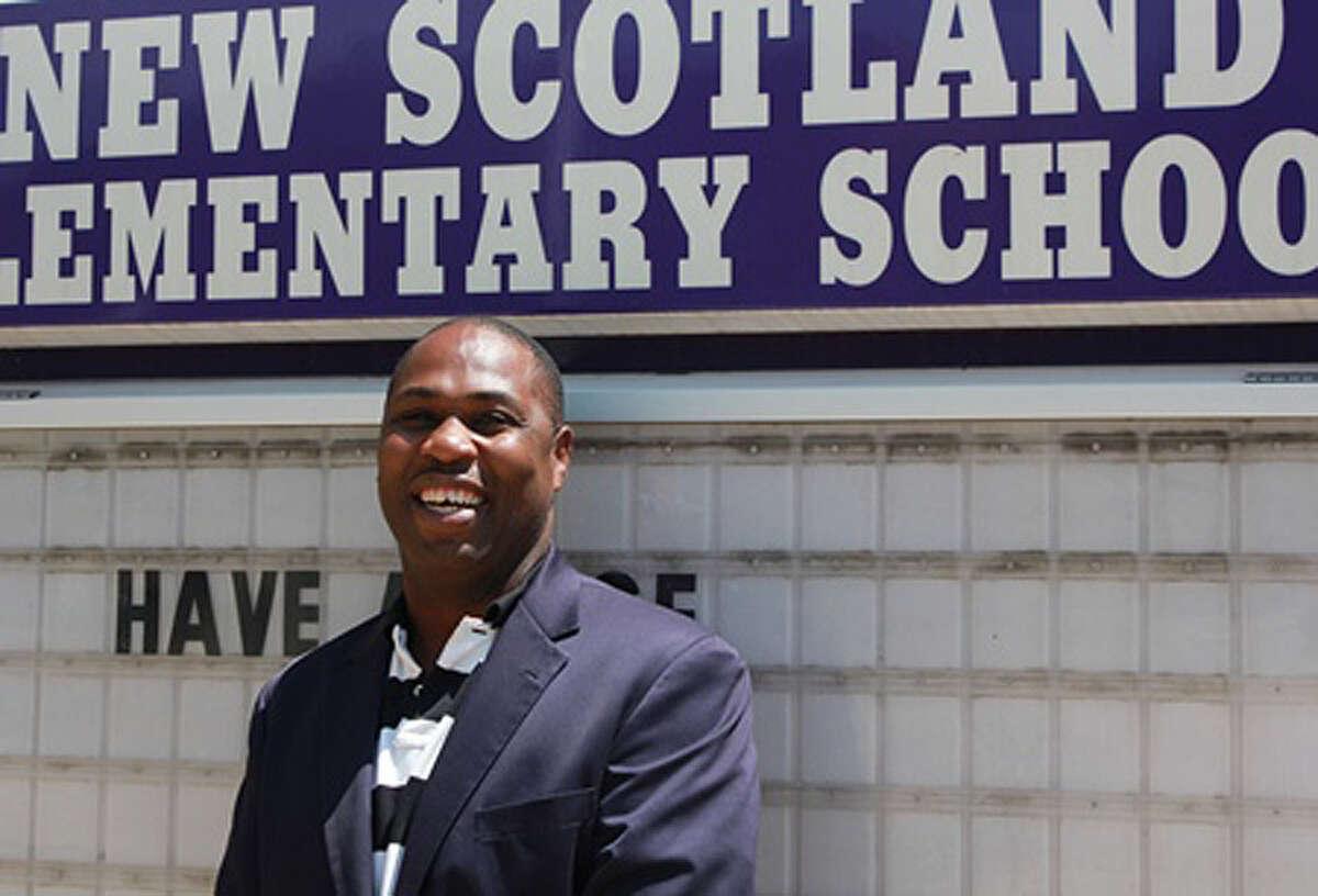 Gregory Jones, former principal at New Scotland Elementary School. (Albany School District)