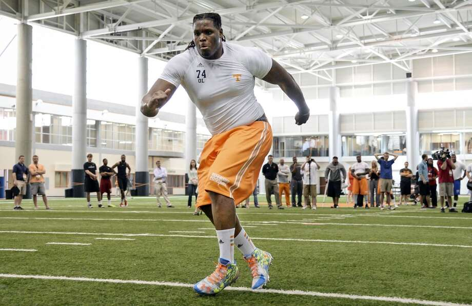 Best of the rest  Antonio Richardson, T, 6-6, 336, Tennessee Photo: Donald Page, Associated Press
