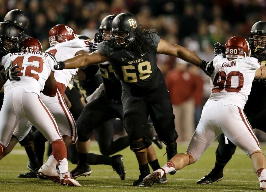 Best of the rest  Cyril Richardson, G, 6-5, 329, Baylor Photo: Tony Gutierrez, Associated Press