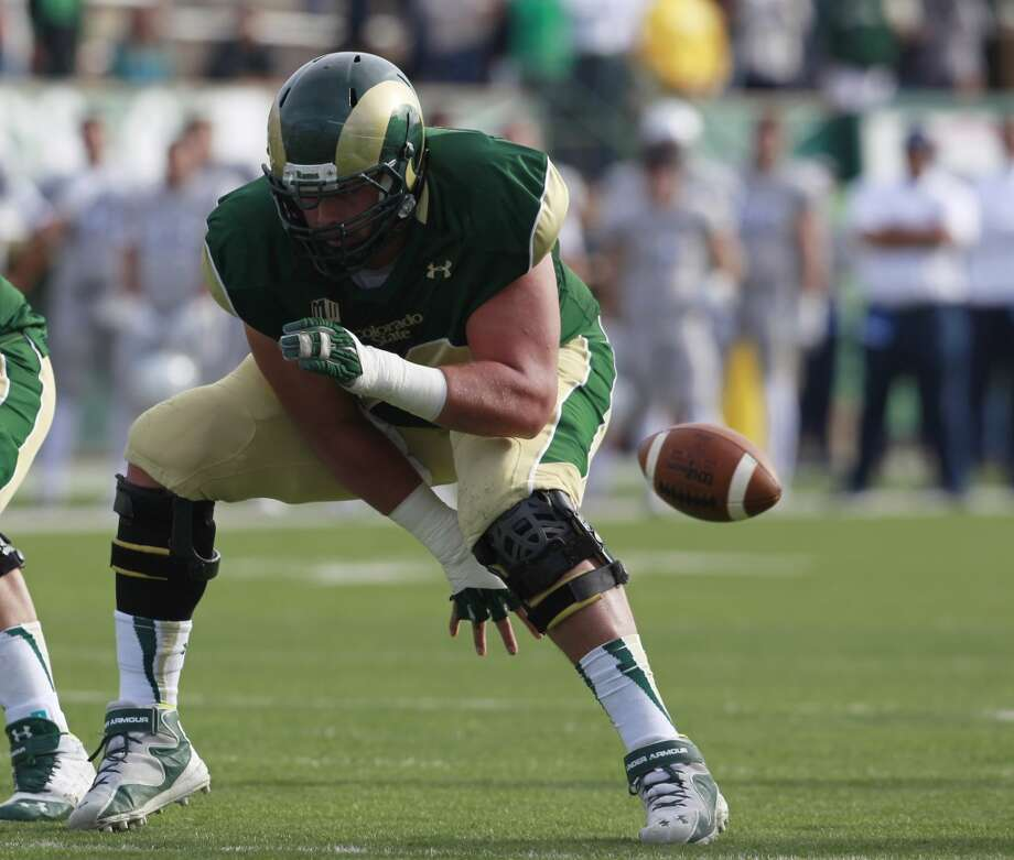 Best of the rest  Weston Richburg, C, 6-3, 298, Colorado State Photo: David Zalubowski, AP
