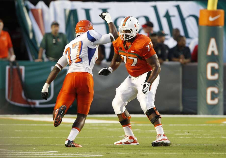 Best of the rest  Seantrel Henderson, 6-7, 331, Miami Photo: Lynne Sladky, ASSOCIATED PRESS