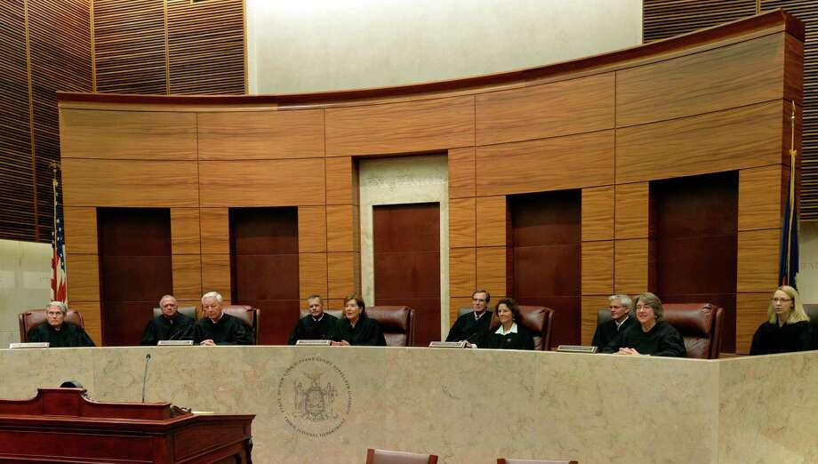 The members of the Appellate Division Thursday afternoon April 24, 2014 in Albany, N.Y.     (Skip Dickstein / Times Union) Photo: SKIP DICKSTEIN / 00026588A