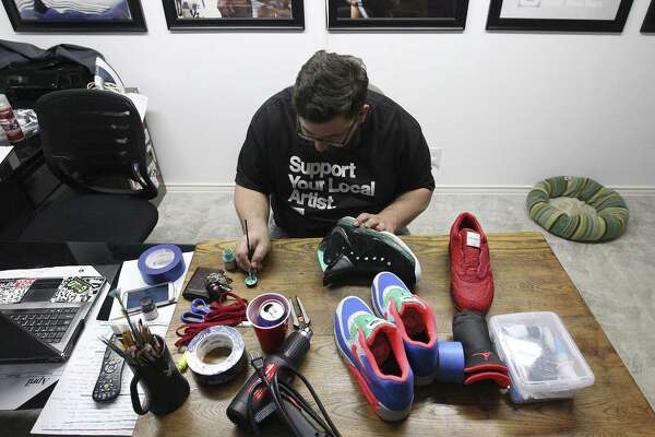 7dc473926bc5 Sneakerheads around world crave made-in-S.A. designs - ExpressNews.com