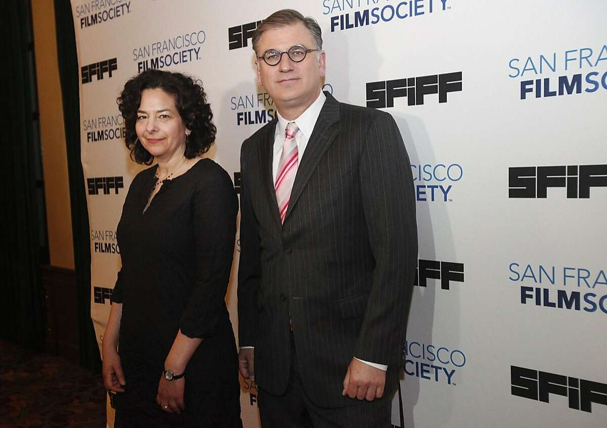 Rachel Rosen, Director of Programming at the San Francisco Film Society, left, and Noah Cowan, the Executive Director of San Francisco Film Society, pictured on the red carpet during the opening night of the San Francisco International Film Festival April 24, 2014 at the Castro Theatre in San Francisco, Calif.
